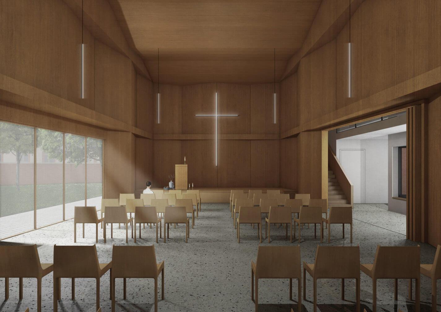 wendewing Gemeindehaus mit Kirchsaal